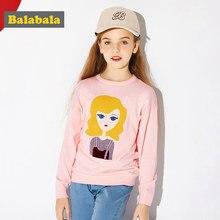 5245135f8606b Balabala pull en maille Fine pour filles en 100% coton avec Motif pull doux  pour