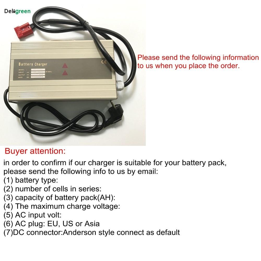 48V 10A 15A Smart Portable Charger for Electric forklift,Scooter for 16S 58.4V Lifepo4 15S 63V LiNCM lead acid battery