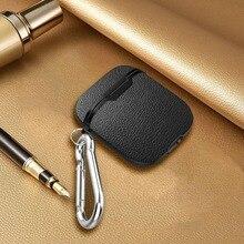 חדש מגן מקרי מדבקה עבור אפל AirPod boxs מגן מקרה או אוויר תרמילי אלחוטי אוזניות מעטפת עור מרקם