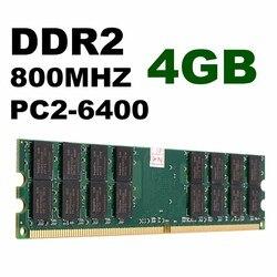 4GB DDR2 pamięć ram 800MHZ PC2 6400 240 Pins pulpit pc pamięć dla AMD płyta główna wzrost jakości karta pamięci na komputer Laptop RAM Komputer i biuro -