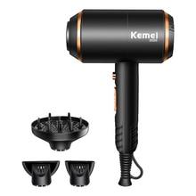 Sèche cheveux électrique puissant avec système de Protection contre la surchauffe, Machine à sécher les cheveux avec des Ions deau sans blessure