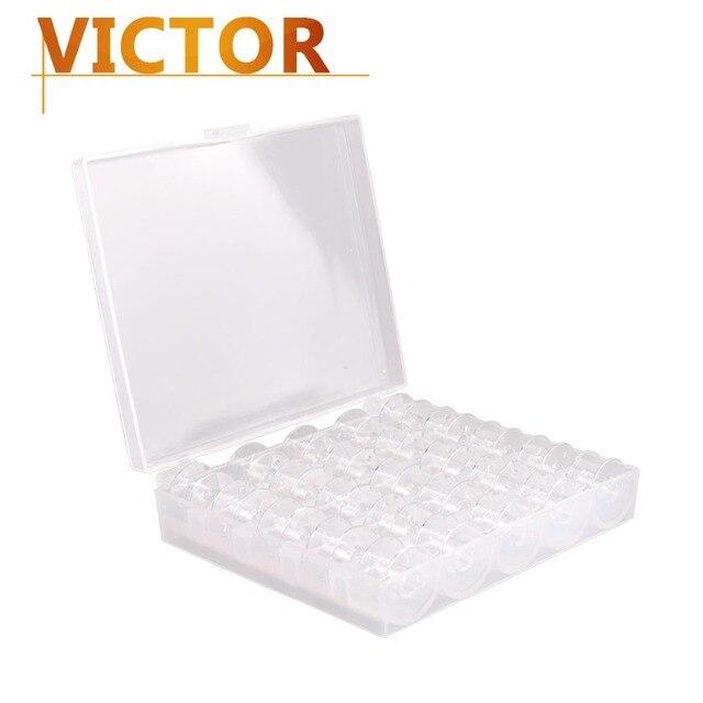 Bobinas de plástico caja Costura hilo bobina hilo organizador ...