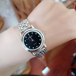 Image 2 - S925 Sterling Silver Fashion Simple Retro Thai Silver Ladies New Watch Bracelet Detachable Section