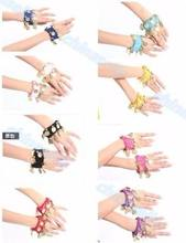 20pairs belly dance bracelet Egyptian dance costumes accessories Indian dance hand catenary belly dance dance dance dance