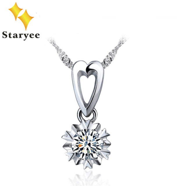 fiery pendant mm sterling ct product moissanite silver round