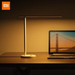 Image 2 - 원래 Xiaomi Mijia 똑똑한 LED 책상 램프 1S 4 빛 형태 Dimmable 9W Mi 테이블 램프 Apple HomeKit Mi 가정 APP Siri 음성 통제