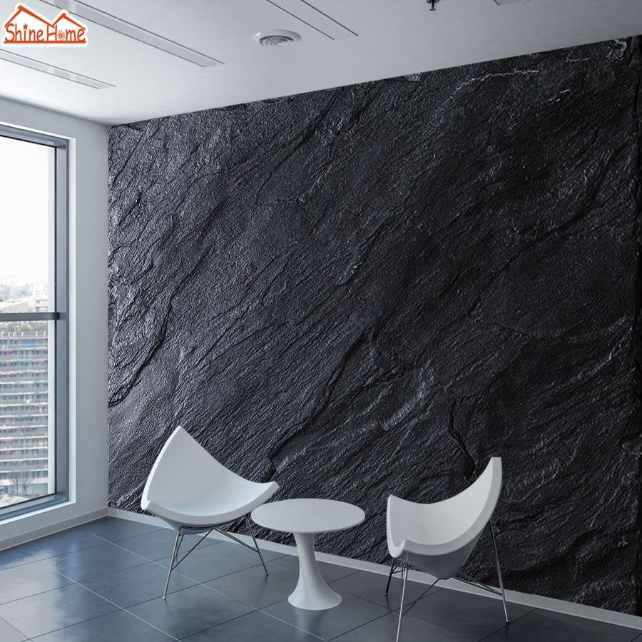 Custom Wallpapers Murals 3d Wallpaper For Wall Living Room Papers Home Decor Black Marble Pattern Mural Rolls Bedroom Walls Art