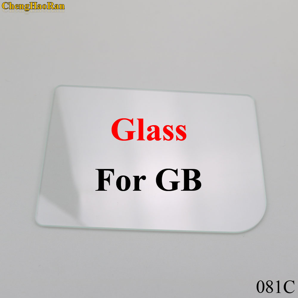 Image 2 - ChengHaoRan 4 models Clear Glass Material Screen Lens for Game boy Color GB/GBA/GBC/GBA SP Game Console replacement repair parts-in Replacement Parts & Accessories from Consumer Electronics