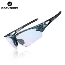 ROCKBROS Bicycle Men's Sunglasses MTB Photochromic Glasses A