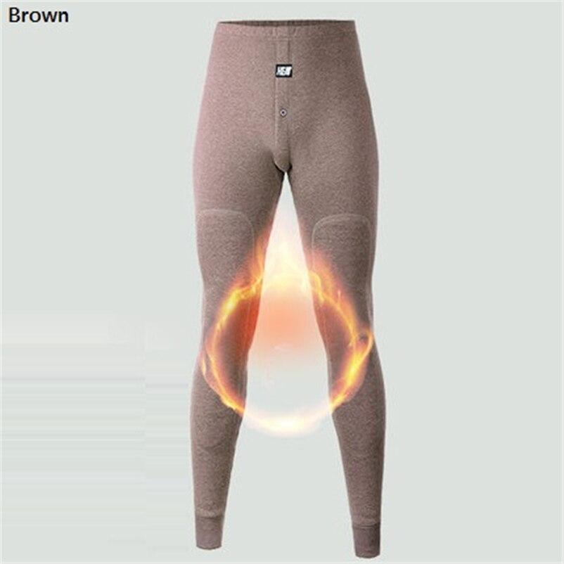 2018 nova roupa interior térmica calças grossas usar no inverno muito frio underwear para o canadá russo e os homens europeus proteger o joelho 4
