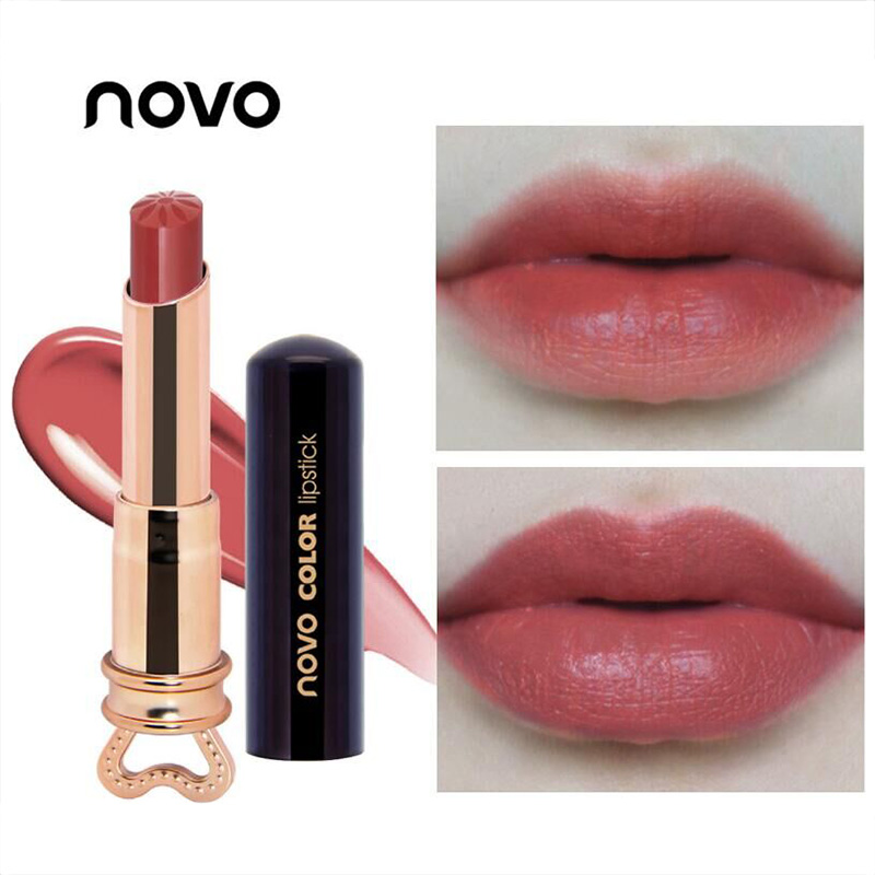 8 Colors Lipstick Long Lasting Nonstick Cup Nutritious Lipstick Cosmetics Lip Blam Makeup Easy To Wear