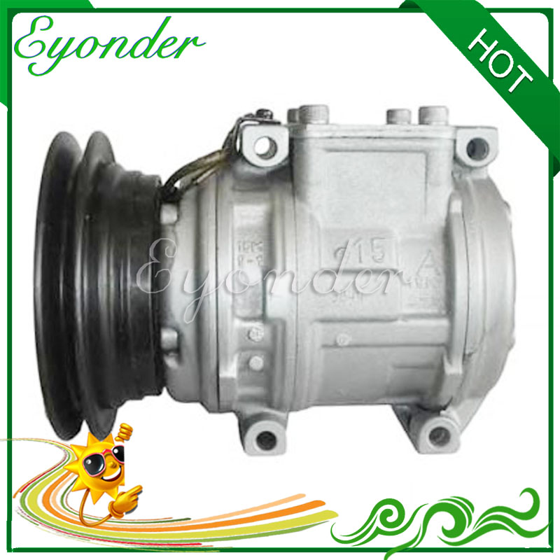 A/C Air Condioning Compressor Cooling Pump 10PA15C for TOYOTA LAND CRUISER HDJ80 80 4.2 Hardtop BUNDERA 2.4 3.0 3.4 8831060770 520w cooling capacity fridge compressor r134a suitable for supermaket cooling equipment