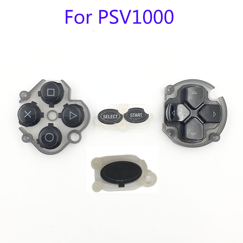 цена на For PSV 1000 Black Cross Pad Start Select Button Original For PSVita 1000 Function Direction Buttons