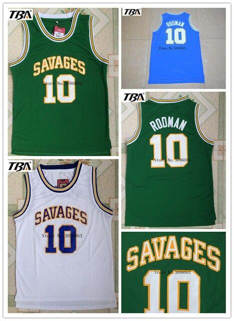 2017 TBA OKLAHOMA SAVAGES University Basketball Jerseys  10 Dennis Rodman  College Basketball Jersey Free Shipping 17a7824c2
