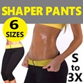 Tramo super super mujeres sauna adelgazamiento de pérdida de peso de la talladora caliente leggings pantalones capri pantalones cortos para mujeres de neopreno deportes yoga