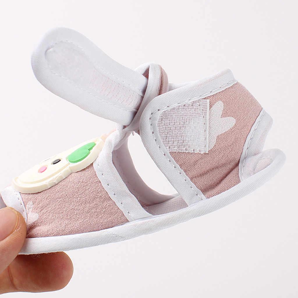 Sandalias de bebé recién nacido bebé niñas niños zapatos de dibujos animados sandalias primero caminantes zapatos de suela suave Sandalia Infantil Bebé Zapatos de verano