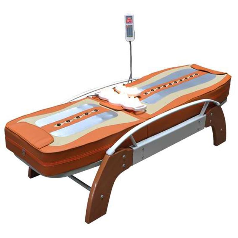 HFR-168-1C Migun Chaude Chauffée Portable Corée Pas Cher Nuga Meilleur Chaud LCD Automatique Roulant Électrique thermique jade Pierre lit de massage