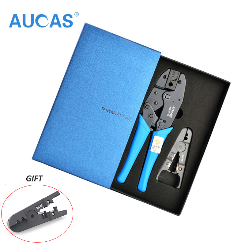 Aucas New Arrival High Quality Network Cat7 Crimper Tool Cat7 Crimping Pliers Tool Crimper Crimping Pliers Wire Cutter Cutting