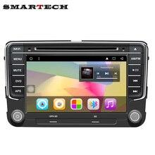 2 Din VW Tablet PC Android 6.0 Coches reproductor de DVD Para VW Volkswagen POLO GOLF Passat Tiguan CC Skoda Fabia Rápida Asiento de Radio GPS Navi