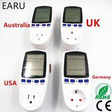 Prise de courant intelligente Standard USA UK EU australie allemagne, ampères de tension d'énergie, consommation d'électricité, moniteur Watt