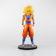 Big Size Anime Dragon Ball Z Super Saiyan Son Gokou Action Figure Model Toys 30cm
