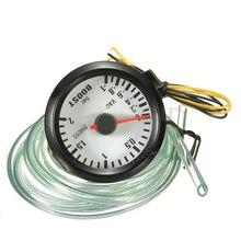 2 «52 мм водить автомобиль BOOST/вакуум/вода/масло temp/Давление/Вольт/Тахометр указатель ukgauge Тип: температура воды датчик Цельсия