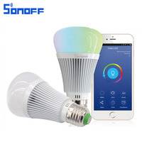 Sonoff B1 LED Bulb E27 6W Dimmer Wifi Smart Light Bulbs Remote Control Wireless Lamp Led