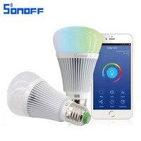 Sonoff B1 LED Bulb E27 6W Dimmer Wifi Smart Light Bulbs Remote Control Wireless Lamp Led