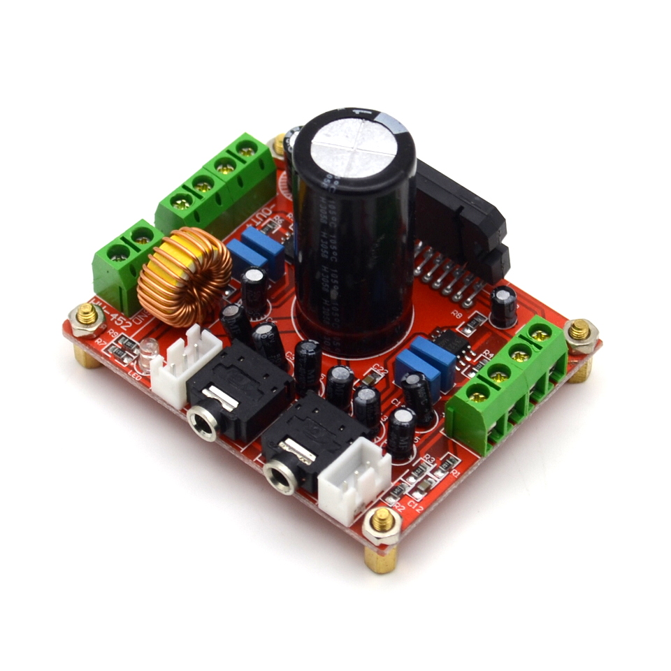 fever class TDA7850 power amplifier board 4 channel car power amplifier board 4X50W with BA3121 noise reduction