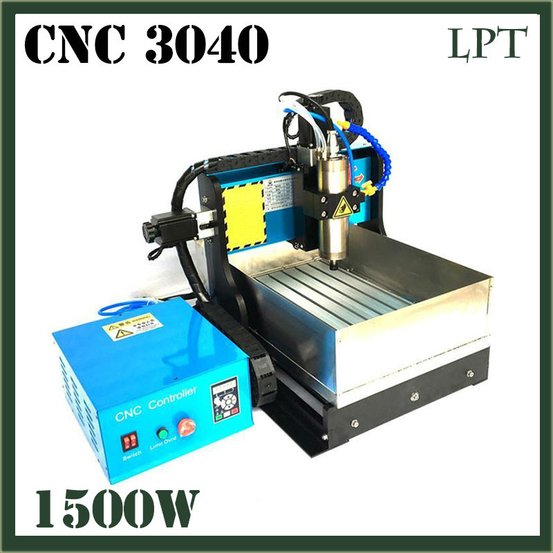 JFT Wood Engraving Machine with Water Tank 1500w Spindle Motor 3 Axis Parallel Port Factory Direct Sale CNC Router 3040  jft high efficiency cnc router machine with 4 axis 1500w engraving machines with parallel port for woodworking 3040