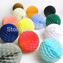 15pcs 5cm Mini Tissue Paper Honeycomb Balls For Wedding Decorations Birthday Party Festival Backdrop