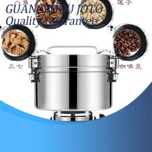4500G Big Capacity Food Grade Stainless Steel Portable Type Electric Grinding Mill Grains Machine xeoleo grains grinding machine commercial grinder stainless steel whole grains milling machine 40kg h food crops 3000w 220v 110v