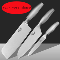 Free Shipping LD High Quality Chef Professional Slicing Sashimi Sashayed Fish Knife Restaurant Sharp Cooking Cleaver