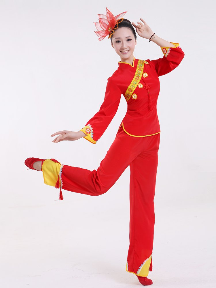 Popular Red Dance Costumes-Buy Cheap Red Dance Costumes lots from China Red Dance Costumes ...