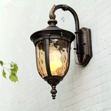 HAWBOIRRY LED outdoor European lawn garden villa park square retro street courtyard waterproof doorway wall lamp european retro outdoor wall lamp villa balcony garden lamp retro wall lamp outdoor retro lamps