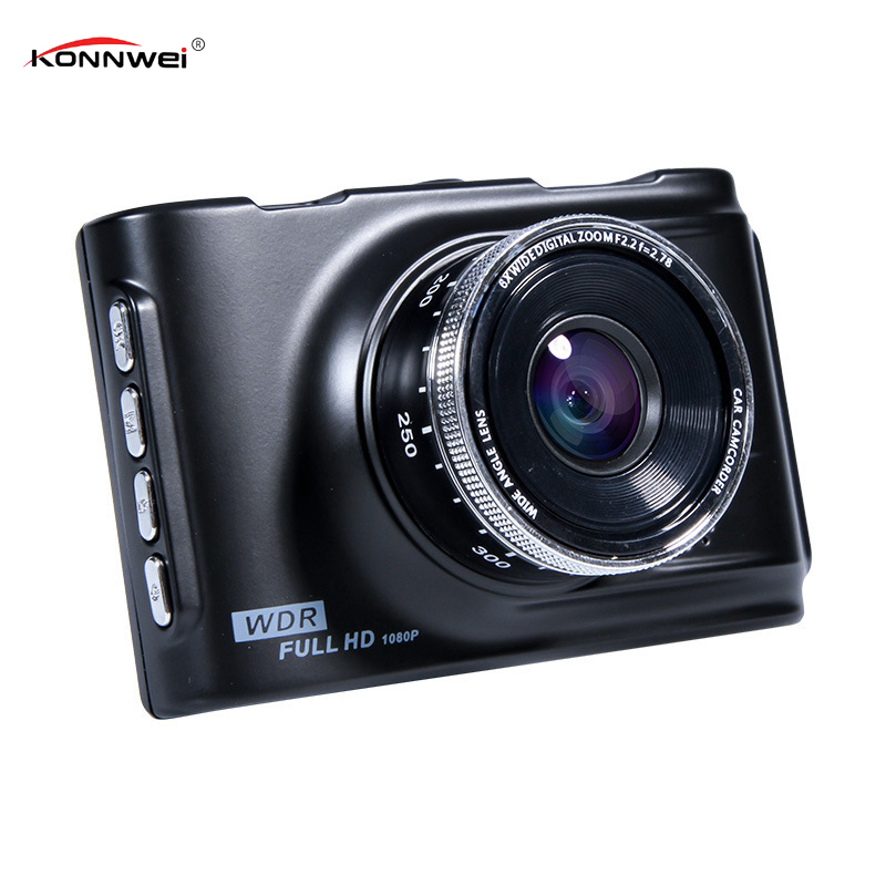 Dash Cam Camera FHD 1080P Car DVR 3 LCD Display Vehicle Camcorder Night Vision 120 Wide Angle Len Digital Video Recorder