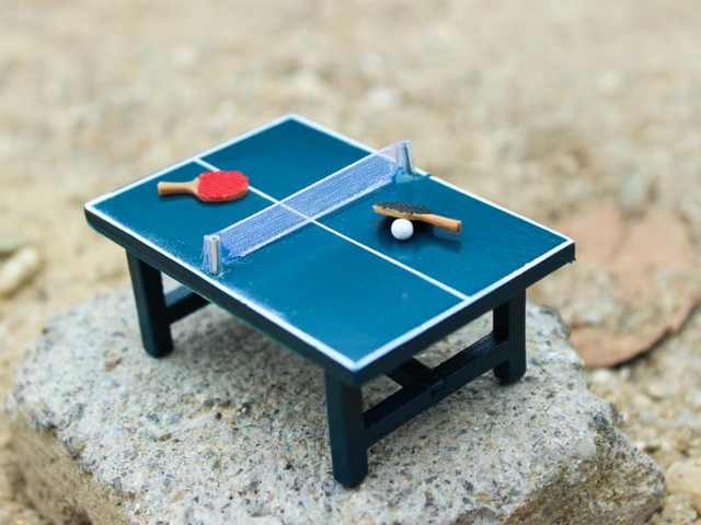 G05-X45551 children baby gift Toy 112 Dollhouse mini Furniture Miniature rement mini : table tennis table set - Pezcame.Com