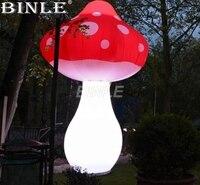 Горячая Распродажа привлекательные гигантские надувные гриб светодиодное освещение украшение для сценического шоу