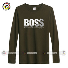 Fanny design men's shirts BOSS Do you know ? The Prices are going up ? sportswear shirts boy's daily shirts long sleeve tops