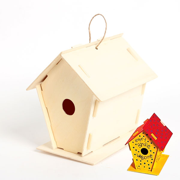 Online get cheap wood bird house alibaba group Cheap wood paint