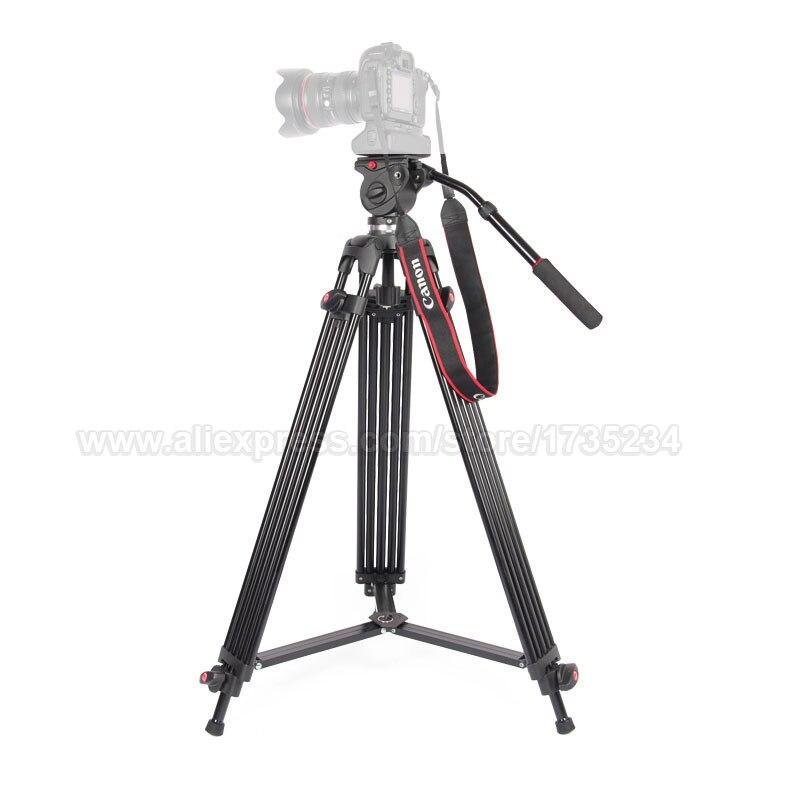 JY0508B 185 cm profesionalni video kamera tronožac s 360 stupnjeva - Kamera i foto - Foto 2
