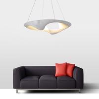 Nordic pendant lights restaurant living room bedroom shell aluminum LED lamp postmodern personality creative designer lamp LO838