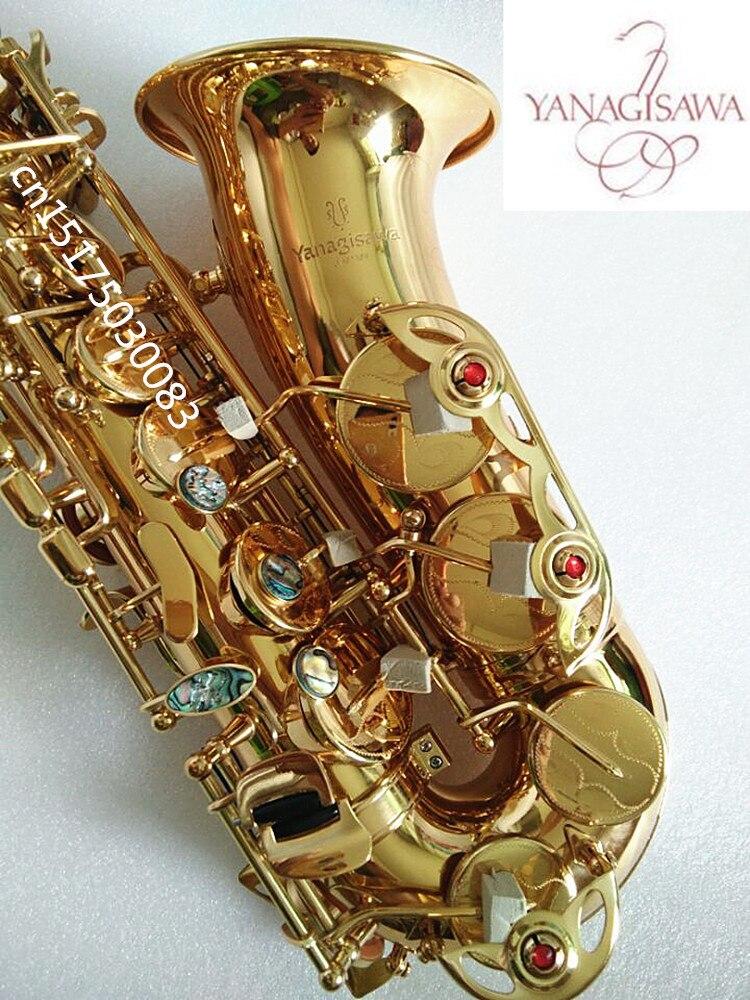 Nouvelle Japonais Yanagizawa W01 Saxophone E Plat Alto Haute Qualité Alto saxophone Super Professionnel Musical Instruments Saxofone