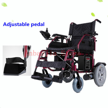 Cheap price electric lithium aluminium portable wheelchair for disabled,elderly people