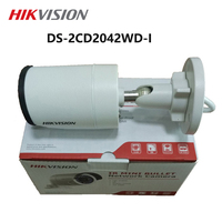 In stock Hikvision original english version DS 2CD2042WD I 4MP POE IR Bullet Camera IP Security System upgrade outdoor Webcame