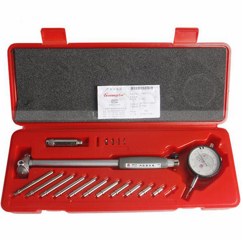 Dial Bore Gauge 50-160mm 0.01mm Anello Centrale Comparatore Micrometro Calibro Strumento di Misura