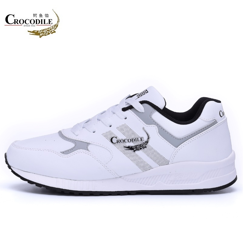 CROCODILE 2018 Spring Men Running Shoes Men Shoes Male Sport Shoes Cushioning Athletic Jogging Shoes for Men's Training Sneakers mulinsen men running shoes black gray blue original athletic training sneakers men s sport flower printing shoes 270009