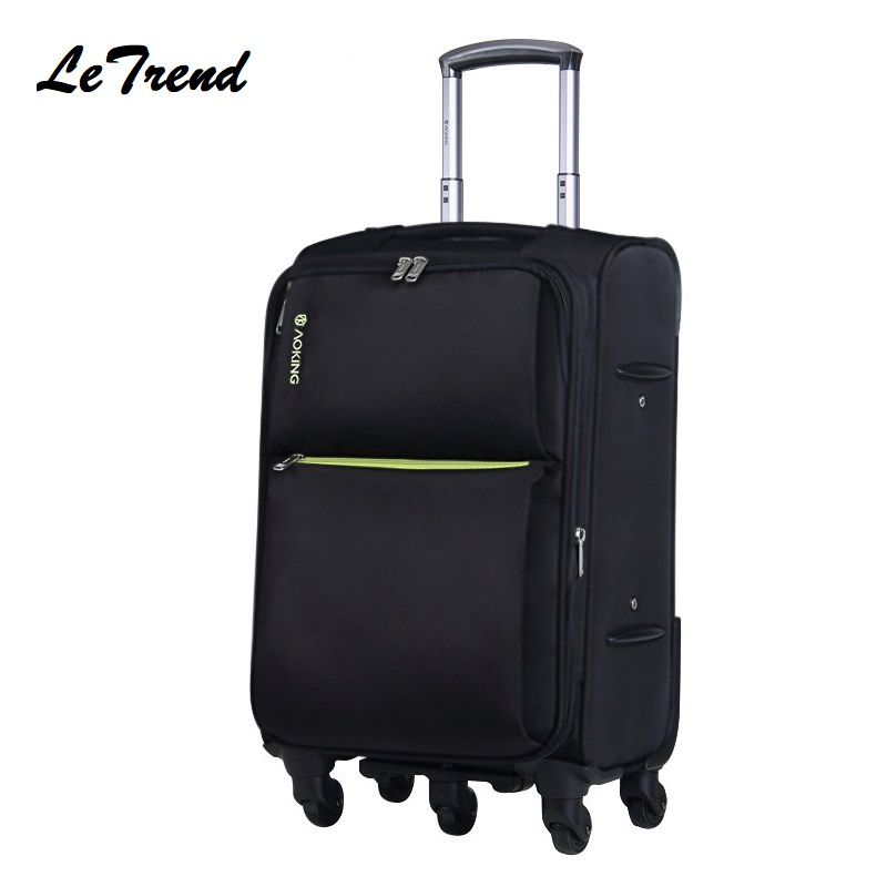 New Waterproof Oxford High Quality Travel Luggage Hand Trolley Men Boarding Suitcase Large Capacity Rolling LuggageNew Waterproof Oxford High Quality Travel Luggage Hand Trolley Men Boarding Suitcase Large Capacity Rolling Luggage