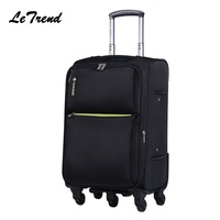 New Waterproof Oxford High Quality Travel Luggage Hand Trolley Men Boarding Suitcase Large Capacity Rolling Luggage