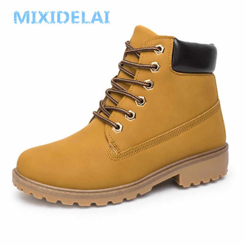Большой размер 2018 39-46, зимние мужские ботинки, мужские повседневные  модные зимние мужские 400286efba0